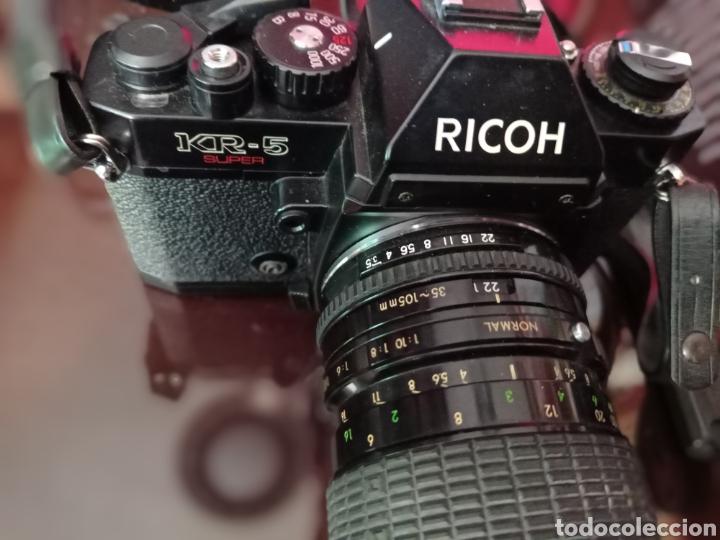 Cámara de fotos: CAMARA RICOH KR5 REFLEX CON OBJETIVO 35 105 SIGMA Y ESTUCHE LOWEPRO - Foto 6 - 249362270
