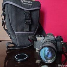 Cámara de fotos: CAMARA RICOH KR5 REFLEX CON OBJETIVO 35 105 SIGMA Y ESTUCHE LOWEPRO. Lote 249362270