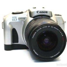 Cámara de fotos: CANON EOS IX 7 APS + 22-55MM + CAJA - SLR 35MM. Lote 249549065