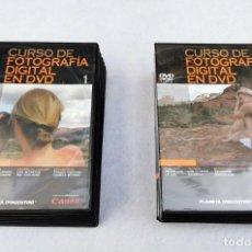 Cámara de fotos: CURSO DE FOTOGRAFÍA DIGITAL EN 40 DVD ED. PLANETA AGOSTINI.. Lote 251303960
