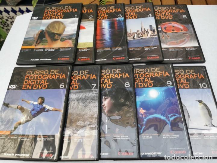 Cámara de fotos: CURSO DE FOTOGRAFÍA DIGITAL EN 40 DVD ED. PLANETA AGOSTINI. - Foto 3 - 251303960