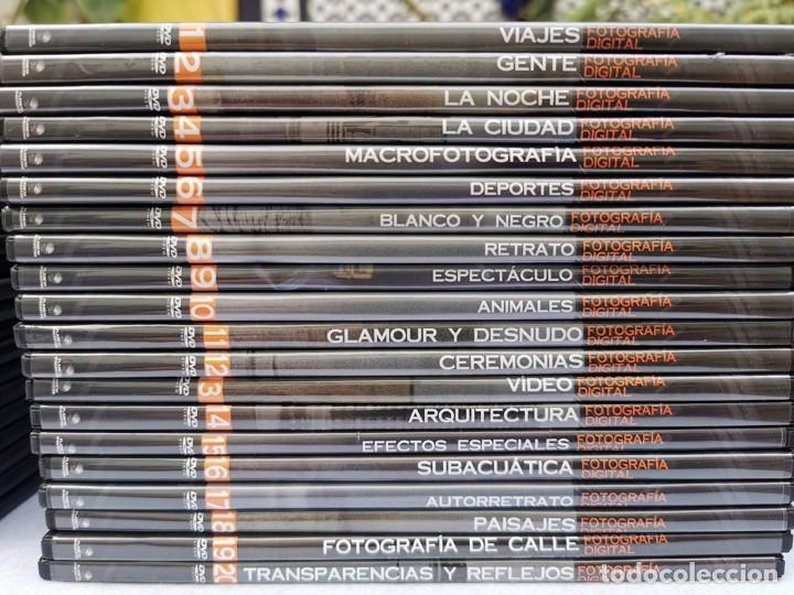 Cámara de fotos: CURSO DE FOTOGRAFÍA DIGITAL EN 40 DVD ED. PLANETA AGOSTINI. - Foto 4 - 251303960