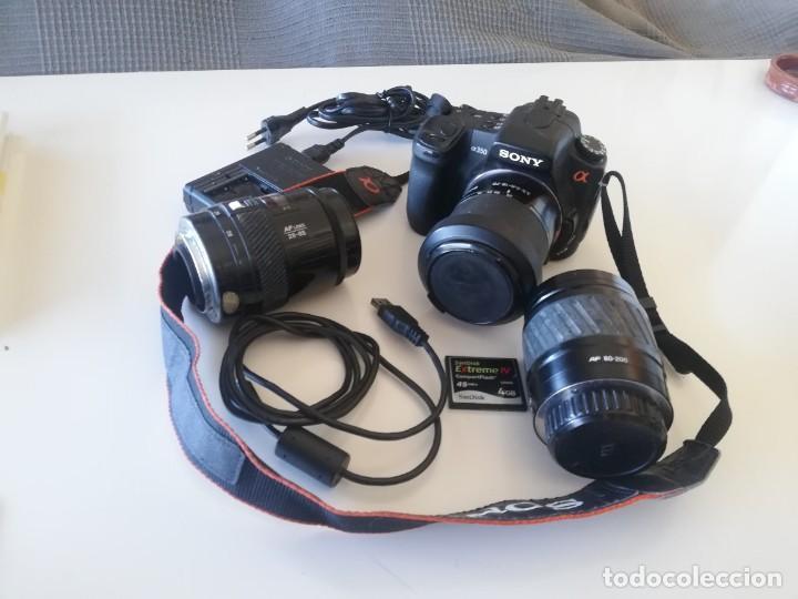 Cámara de fotos: Camara Sony alfa 350 y accesorios - Foto 4 - 252899560