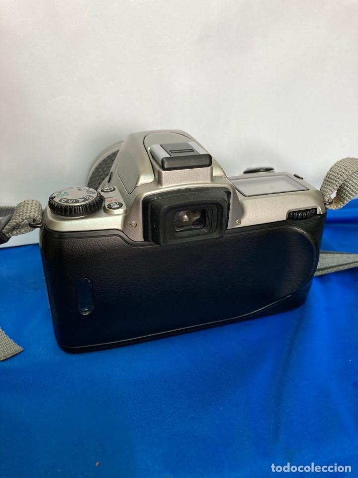 Cámara de fotos: Camara de fotos NIKON F65, con flash, correa, y foco - Foto 10 - 253072405