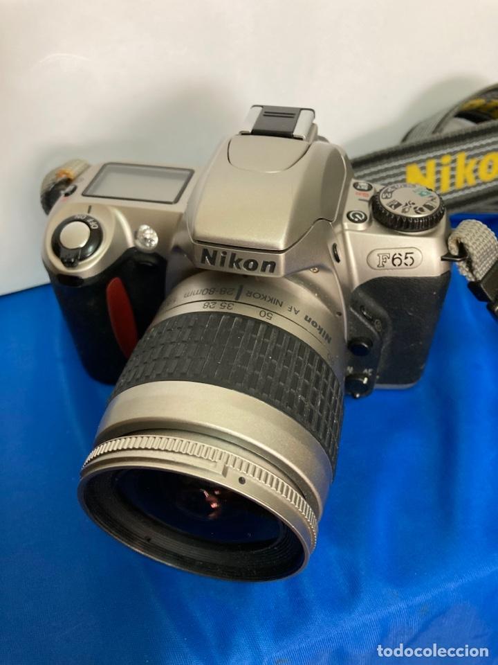 CAMARA DE FOTOS NIKON F65, CON FLASH, CORREA, Y FOCO (Cámaras Fotográficas - Réflex (autofoco))
