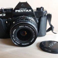 Cámara de fotos: CAMARA FOTOGRAFICA ASAHI PENTAX K2 OBJETIVO 1:3,5 28 MM. UN GRAN ANGULAR 1:1.4/50 Y UN ZOOM 80-200. Lote 254333380
