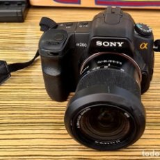 Cámara de fotos: SONY A200. Lote 257285270