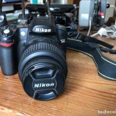Cámara de fotos: NIKON D80. CÁMARA DIGITAL Y 2 BATERIAS. Lote 257384760