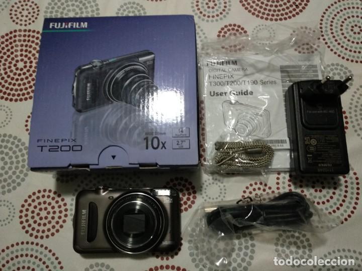 CAMARA DIGITAL FUJI FINEPIX T200 (Cámaras Fotográficas - Réflex (autofoco))