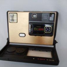 Cámara de fotos: KODAK DISC 8000 CAMERA,1980. Lote 262539560