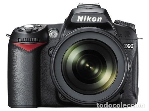 NIKON D90 CON NIKON 18 105 VR Y DOBLE CARGADOR. (Cámaras Fotográficas - Réflex (autofoco))