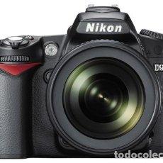 Cámara de fotos: NIKON D90 CON NIKON 18 105 VR Y DOBLE CARGADOR.. Lote 262754600