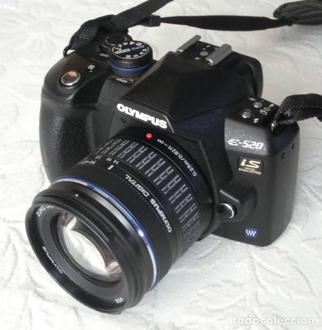 CÁMARA RÉFLEX DIGITAL OLYMPUS E-520 + ZUIKO 14-42MM (EN SU CAJA ORIGINAL) (Cámaras Fotográficas - Réflex (autofoco))