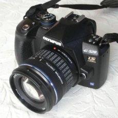 Cámara de fotos: CÁMARA RÉFLEX DIGITAL OLYMPUS E-520 + ZUIKO 14-42MM (EN SU CAJA ORIGINAL). Lote 264060105