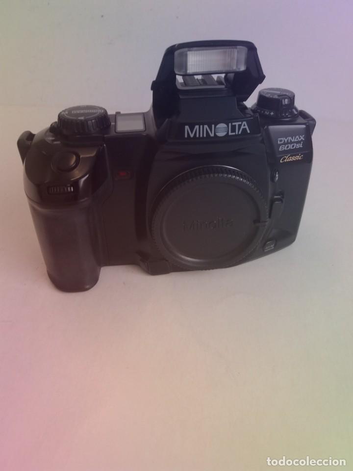 ESPECTACULAR Y RARA MINOLTA DINAX 600SI CLASSIC AÑOS 90´S (Cámaras Fotográficas - Réflex (autofoco))