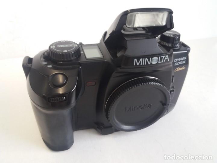 Cámara de fotos: ESPECTACULAR Y RARA MINOLTA DINAX 600si Classic AÑOS 90´S - Foto 3 - 264107075