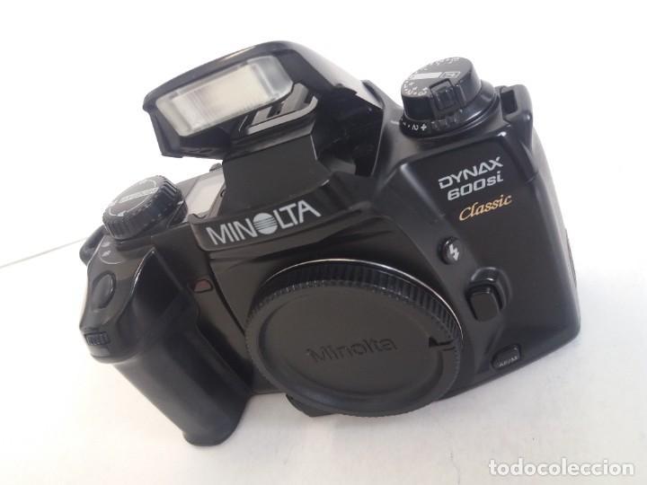 Cámara de fotos: ESPECTACULAR Y RARA MINOLTA DINAX 600si Classic AÑOS 90´S - Foto 4 - 264107075