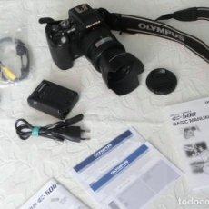 Cámara de fotos: EQUIPO FOTOGRÁFICO OLYMPUS E-500 + ZUIKO 14-45MM F3.5-5.6 EN SU CAJA ORIGINAL. Lote 267172664