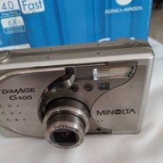 Cámara de fotos: KONICA MINOLTA DIMAGE G 400, AÑO 2005. Lote 269137803