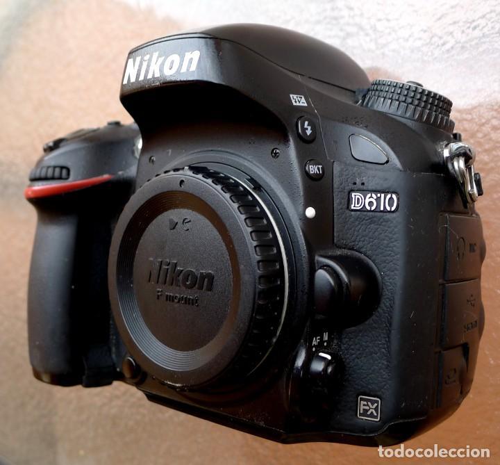 NIKON D610 .PROFESIONAL FULL FRAME. 24,26 MP. (Cámaras Fotográficas - Réflex (autofoco))