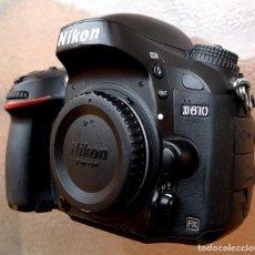 Cámara de fotos: NIKON D610 .PROFESIONAL FULL FRAME. 24,26 MP.. Lote 269797213
