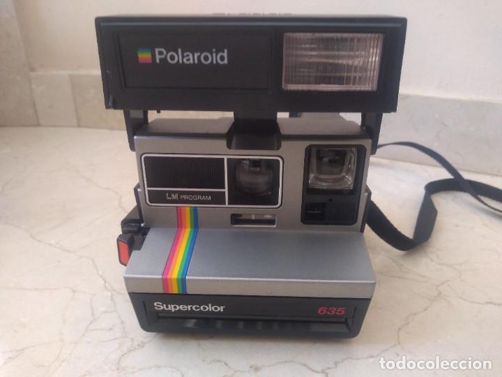 Cámara de fotos: Antigua cámara Polaroid 635 Supercolor - Foto 2 - 271545453