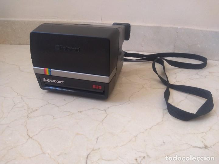 Cámara de fotos: Antigua cámara Polaroid 635 Supercolor - Foto 5 - 271545453