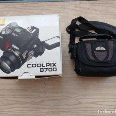 Cámara de fotos: CAMARA DIGITAL NIKON COOLPIX 8700. Lote 272071823