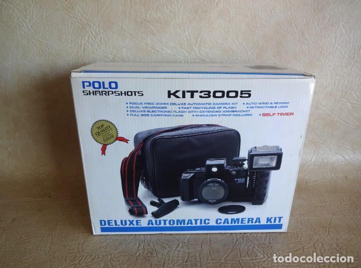 Cámara de fotos: CAMARA FOTOS POLO KIT 3005 NUEVA! - Foto 2 - 272265333