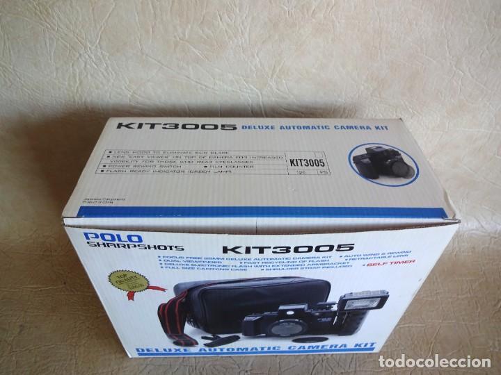 Cámara de fotos: CAMARA FOTOS POLO KIT 3005 NUEVA! - Foto 3 - 272265333