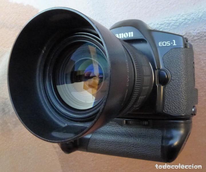 CANON EOS 1 BOOSTER,.PORSCHE DESIGN.CON CANON EF ZOOM 35 105+PARASOL (Cámaras Fotográficas - Réflex (autofoco))