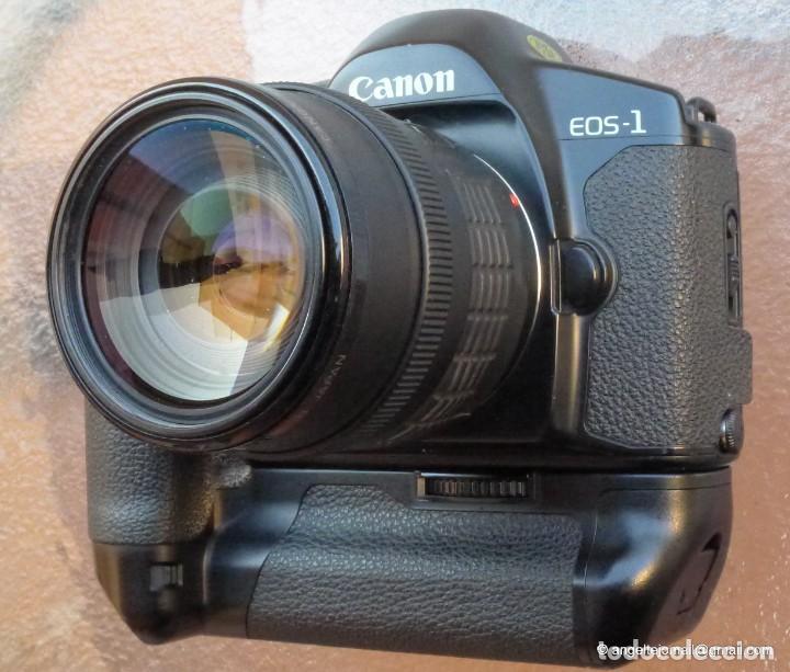 Cámara de fotos: Canon Eos 1 Booster,.Porsche design.Con Canon EF zoom 35 105+parasol - Foto 2 - 274684168