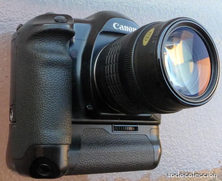Cámara de fotos: Canon Eos 1 Booster,.Porsche design.Con Canon EF zoom 35 105+parasol - Foto 4 - 274684168