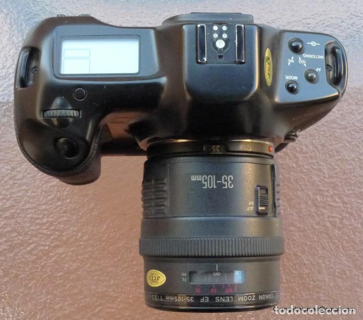 Cámara de fotos: Canon Eos 1 Booster,.Porsche design.Con Canon EF zoom 35 105+parasol - Foto 5 - 274684168