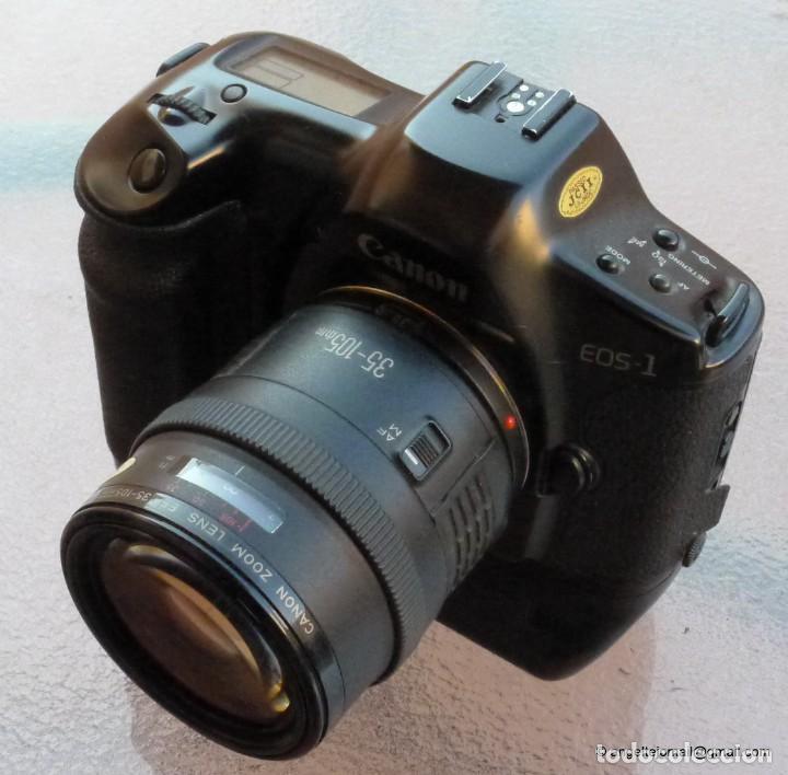 Cámara de fotos: Canon Eos 1 Booster,.Porsche design.Con Canon EF zoom 35 105+parasol - Foto 6 - 274684168