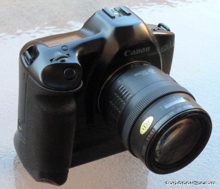 Cámara de fotos: Canon Eos 1 Booster,.Porsche design.Con Canon EF zoom 35 105+parasol - Foto 7 - 274684168