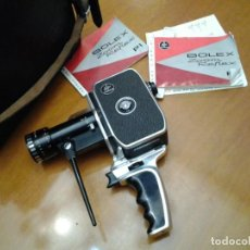 Cámara de fotos: PAILLARD BOLEX P1 REFLEX MOVIE CAMERA 8MM - PAN CINOR BERTHIOT 1,9/8-40 MADE IN SUIZA.. Lote 275038168