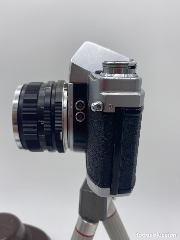 Cámara de fotos: Minolta SR-1 Cámara de carrete 35 mm - trípode + funda + carrete - Foto 4 - 275113593