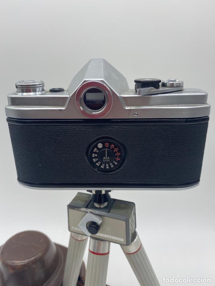Cámara de fotos: Minolta SR-1 Cámara de carrete 35 mm - trípode + funda + carrete - Foto 5 - 275113593
