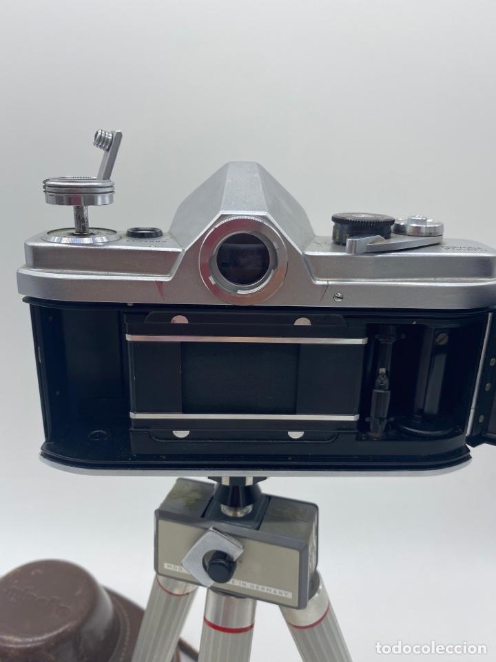 Cámara de fotos: Minolta SR-1 Cámara de carrete 35 mm - trípode + funda + carrete - Foto 7 - 275113593