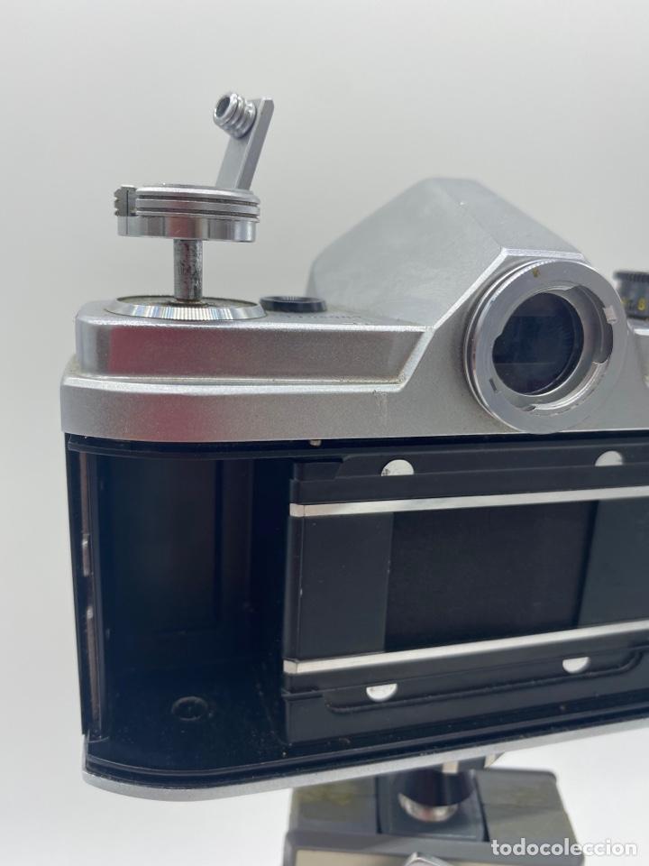 Cámara de fotos: Minolta SR-1 Cámara de carrete 35 mm - trípode + funda + carrete - Foto 8 - 275113593
