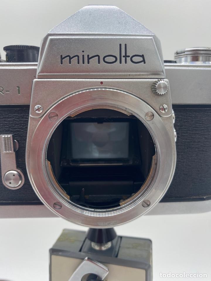 Cámara de fotos: Minolta SR-1 Cámara de carrete 35 mm - trípode + funda + carrete - Foto 9 - 275113593