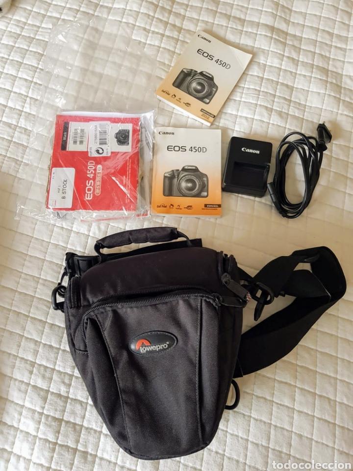 Cámara de fotos: Camara Canon EOS 450D con lente EF-S 18-55/3,5.. - Foto 5 - 276502518