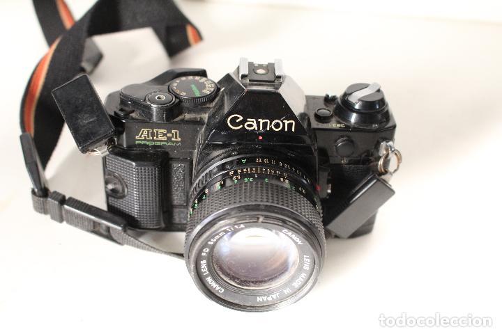 CAMARA CANON AE-1 PROGRAM (Cámaras Fotográficas - Réflex (autofoco))