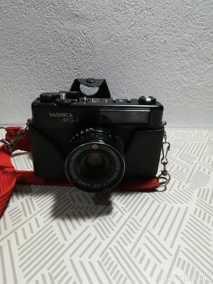 CÁMARA DE FOTOS YASHICA MG-1 (Cámaras Fotográficas - Réflex (autofoco))