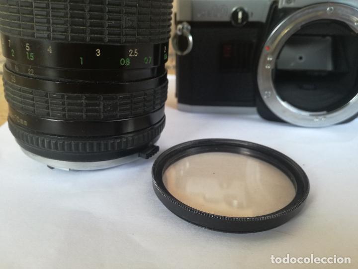 Cámara de fotos: CAMARA FOTOGRAFICA OLYMPUS OM10 CON OBJETIVO, VER FOTOS - FUNCIONANDO CORRECTAMENTE - Foto 6 - 283239128
