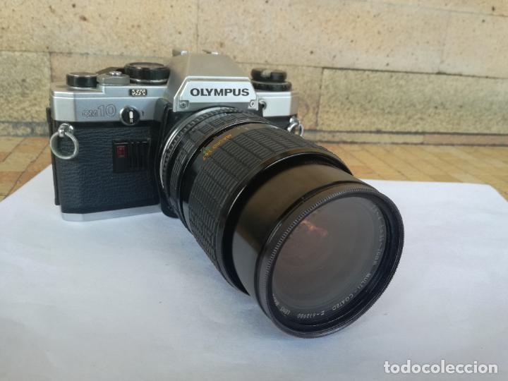 Cámara de fotos: CAMARA FOTOGRAFICA OLYMPUS OM10 CON OBJETIVO, VER FOTOS - FUNCIONANDO CORRECTAMENTE - Foto 7 - 283239128