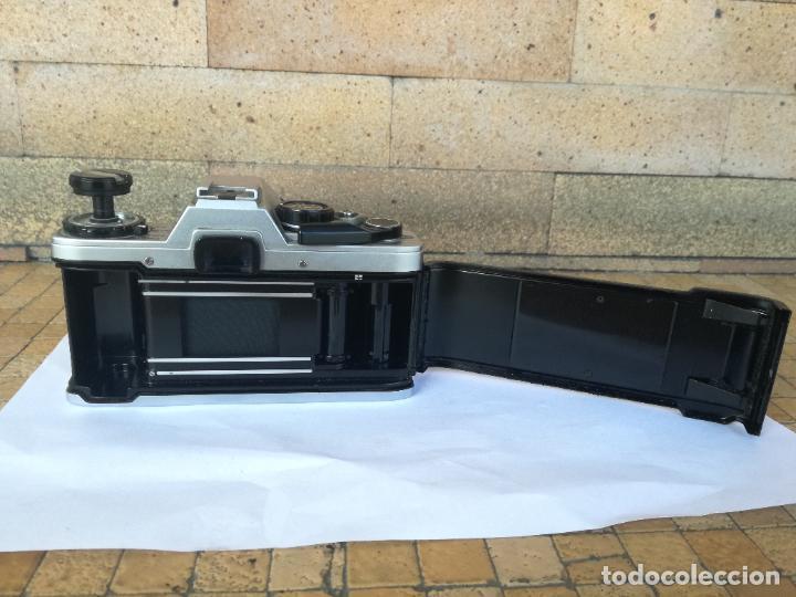 Cámara de fotos: CAMARA FOTOGRAFICA OLYMPUS OM10 CON OBJETIVO, VER FOTOS - FUNCIONANDO CORRECTAMENTE - Foto 14 - 283239128