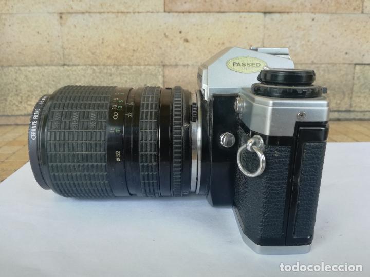 Cámara de fotos: CAMARA FOTOGRAFICA OLYMPUS OM10 CON OBJETIVO, VER FOTOS - FUNCIONANDO CORRECTAMENTE - Foto 21 - 283239128