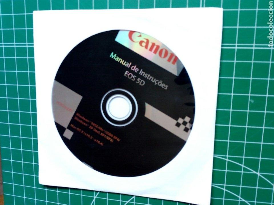 Cámara de fotos: MANUAL DE INSTRUÇOES CANON EOS 5D (en portugués) - CD Manual de instrucciones - Digital - Foto 2 - 283357258